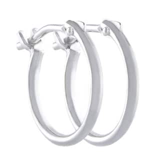 Pori 10k White Gold 2x10mm Circle Hoop Earrings|https://ak1.ostkcdn.com/images/products/10303954/P17416842.jpg?impolicy=medium