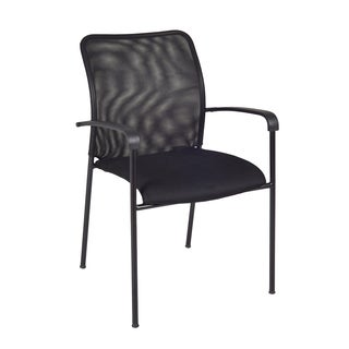 Mario Stack Chair, Black, 8 pack