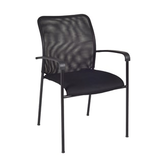 Mario Stack Chair, Black, Pack of 24
