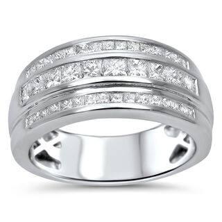Noori 14k Gold Men's 1ct TDW Princess-cut Certified Diamond Wedding Band|https://ak1.ostkcdn.com/images/products/10304028/P17416923.jpg?impolicy=medium