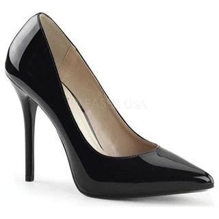 Women's Pleaser Amuse 20 Black Patent