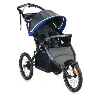 Kolcraft Sprint Pro Lightweight Jogging Stroller with Fixed Front Wheel and Hand Brake