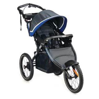 Kolcraft Sprint Pro Lightweight Jogging Stroller with Fixed Front Wheel and Hand Brake|https://ak1.ostkcdn.com/images/products/10304764/P17417548.jpg?impolicy=medium