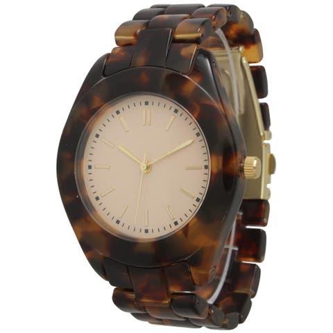 Olivia Pratt Tortoise Bracelet Watch