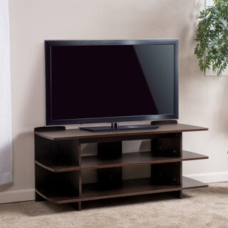Birchfield Three-Tier Wood TV Console Stand by Christopher Knight Home