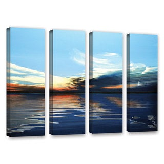 ArtWall Ken Kirsh 'Quiet Reflections' 4 Piece Gallery-Wrapped Canvas Set