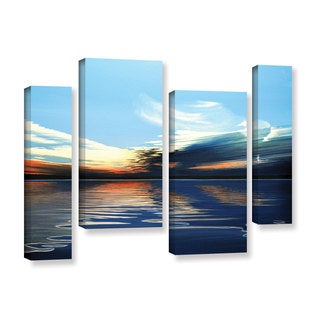 ArtWall Ken Kirsh 'Quiet Reflections' 4 Piece Gallery-wrapped Canvas Staggered Set