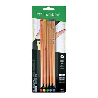 Tombow Recycled Colored Pencils 5/Pkg Bright