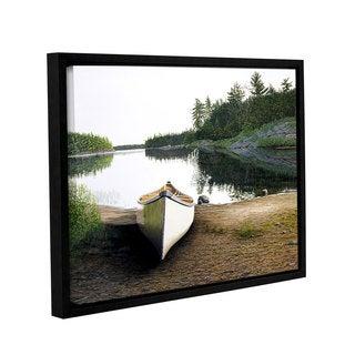 ArtWall Ken Kirsh 'Silent Retreat 1' Gallery-wrapped Floater-framed Canvas