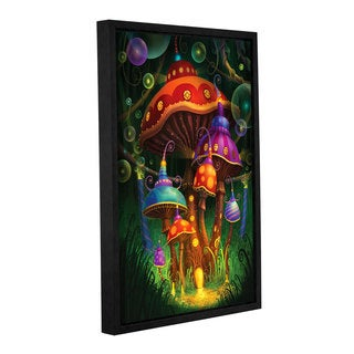 ArtWall Philip Straub 'Enchanted Evening' Gallery-wrapped Floater-framed Canvas