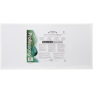 Artists' Quality Canvas Board 12inX24in