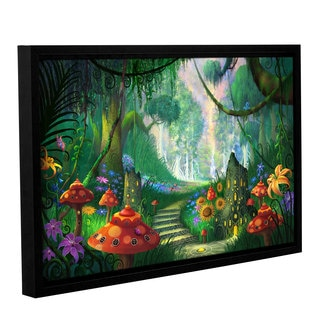 ArtWall Philip Straub 'Hidden Treasure' Gallery-wrapped Floater-framed Canvas