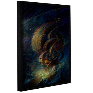 ArtWall Philip Straub 'The Apparition' Gallery-wrapped Floater-framed Canvas