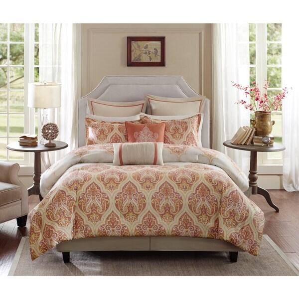 Harbor House Kalia Cotton 4-piece Comforter Set