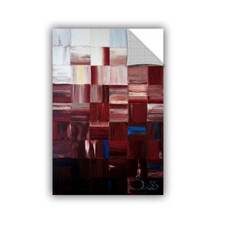 ArtAppealz Shiela Gosselin 'Redsquares' Removable Wall Art