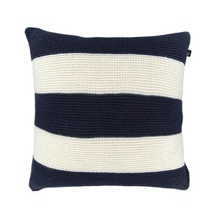 Nautica Mainsail Stripe Knit Decorative Pillow