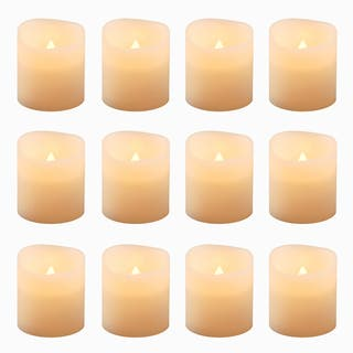 Battery Operated LED Amber Votive Candles (Set of 12)|https://ak1.ostkcdn.com/images/products/10305146/P17417857.jpg?impolicy=medium