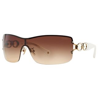 Coach Women's HC7018 L048 Noelle 911813 Metal Square Sunglasses