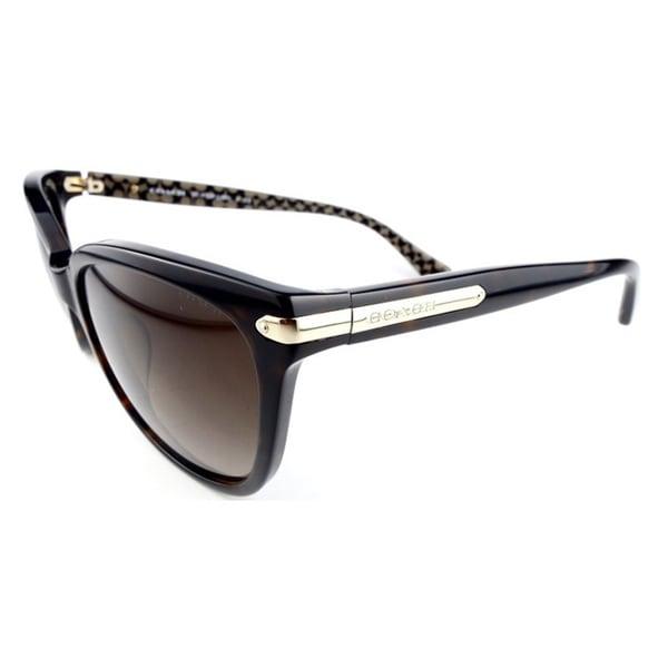 5bf3b0c9b4606 Coach Women  x27 s HC8132F L551 529113 Plastic Cat Eye Sunglasses - Tortoise