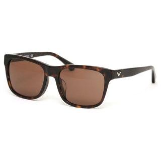 Emporio Armani Men's EA4041F Plastic Square Sunglasses