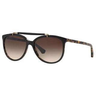 Emporio Armani Women's EA4039 Plastic Round Sunglasses