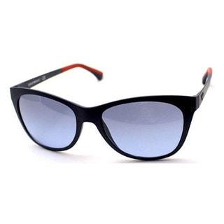 Emporio Armani Women's EA4046 Plastic Oval Sunglasses