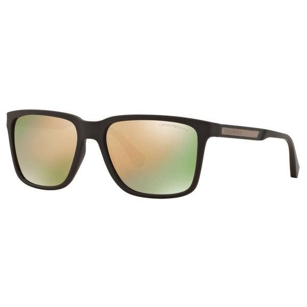 698b478c644d Shop Emporio Armani Men s EA4047 Square Sunglasses - Free Shipping ...