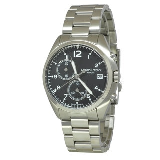 Hamilton Men's H76512133 Khaki Aviation Black Watch