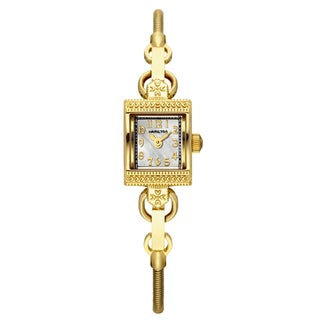 Hamilton Women's H31231113 Lady Hamilton Vintage Mother of Pearl Watch