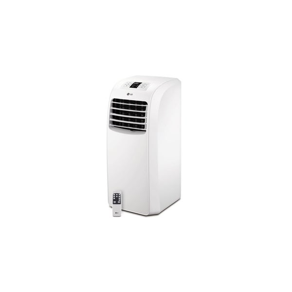 shop lg 8 000 btu portable air conditioner with remote refurbished on sale free shipping. Black Bedroom Furniture Sets. Home Design Ideas