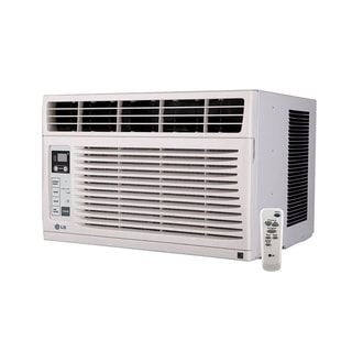 LG LW6013ER 6,000 BTU Window Air Conditioner with Remote (Refurbished)