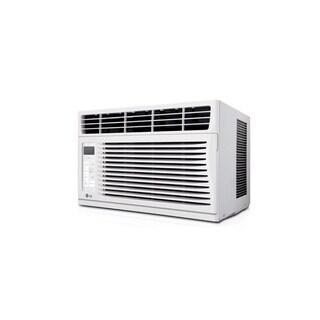 LG LW6014ER 6,000 BTU Window Air Conditioner with Remote (Refurbished) - White