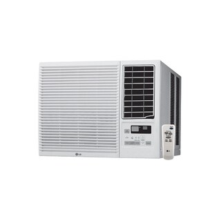 LG LW1215HR 12,000 BTU Cooling and 11,200 BTU Heating (220V) Air Conditioner with Remote (Refurbished)