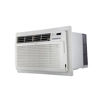 LG LT1035HNR 10,000 BTU Cooling and 11,200 BTU Heating (220V) Thru-the-Wall Air Conditioner with Remote (Refurbished) - White