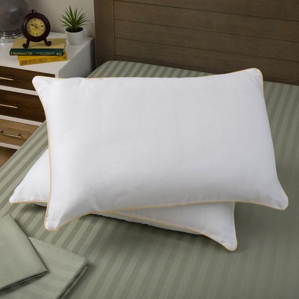 Dream Essence 300 Thread Count Medium Firm Pillow (Set of 2)