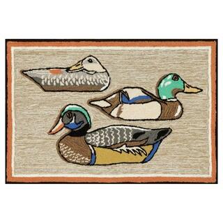 Wood Ducks Outdoor Rug (3'6 x 5'6)