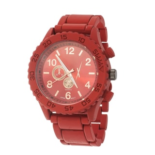 Xtreme Women's Metal Red Case and Strap Watch