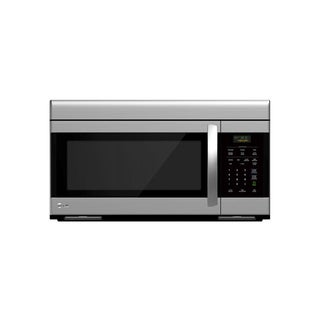 LG LMV1683ST (Refurbished) 1.6-cubic Foot Non-sensor Over-the-Range Stainless Steel Microwave Oven