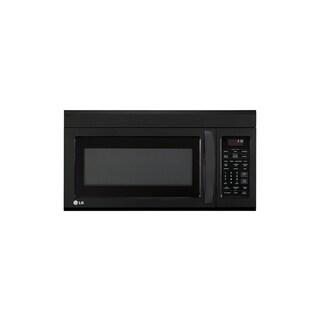LG LMV1831SB (Refurbished) 1.8-cubic Foot Over-the-Range Smooth Black Microwave Oven