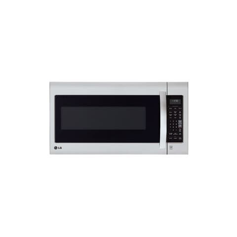 LG LMV2031ST 2-cubic Foot Over-the-Range Stainless Steel Microwave Oven (Refurbished)