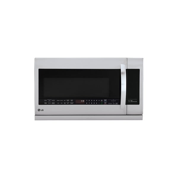 LG LMHM2237ST (Refurbished) 2.2-cubic Foot Over-the-Range Stainless Steel Microwave Oven