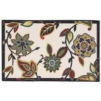 Waverly Fancy Free and Easy Lively Trail Onyx Area Rug by Nourison (2'6 x 4')