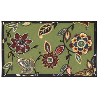 Waverly Fancy Free and Easy Lively Trail Celery Area Rug by Nourison (2'6 x 4')