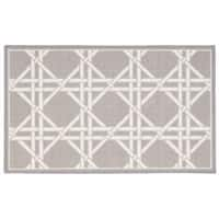 Waverly Fancy Free and Easy Garden Lattice Stone Area Rug by Nourison (2'6 x 4') - 2'6 x 4'