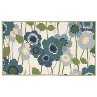 Waverly Fancy Free and Easy Pic-a-Poppy Ocean Area Rug by Nourison (1'8 x 2'10)