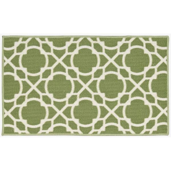 Waverly Fancy Free and Easy Perfect Fit Celery Area Rug by Nourison (1'8 x 2'10)