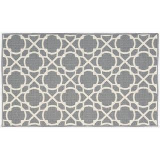 Waverly Fancy Free and Easy Perfect Fit Stone Area Rug by Nourison (1'8 x 2'10)