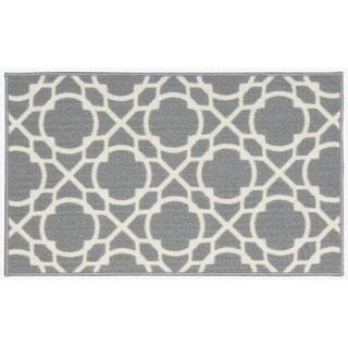 Waverly Fancy Free and Easy Perfect Fit Stone Area Rug by Nourison (1'10 x 4'6)