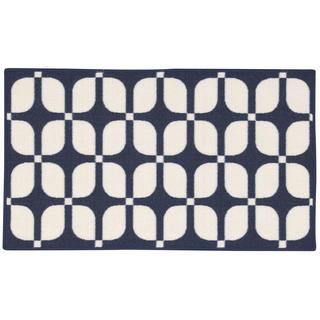 Waverly Fancy Free and Easy Unparralleled Ocean Area Rug by Nourison (2'6 x 4')