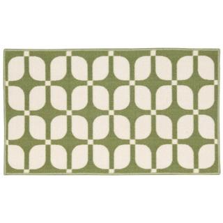 Waverly Fancy Free and Easy Unparralleled Celery Area Rug by Nourison (1'10 x 4'6)